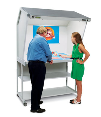 GTI CVX-3052 Color Viewing Stations