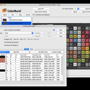 ColorBurst SpectraCore Camera Profiling